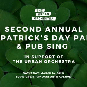 2nd Annual St. Patrick's Day Party & Pub Sing
